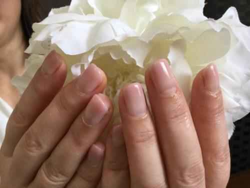 シンプルグラデーションは爪が綺麗に見えます♬