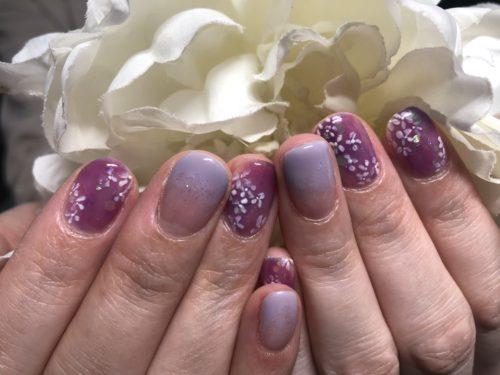 手元に紫陽花を咲かせましょ♪