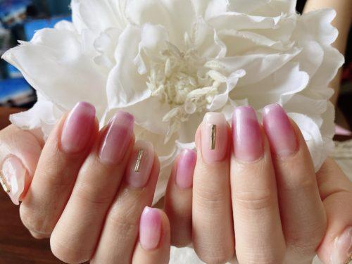 美爪だからこそのシンプルデザイン